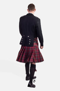 Red Nicolson Muted / Prince Charlie Hire Outfit