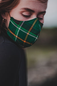 Celtic FC Official Tartan Facemask - Form Fitting