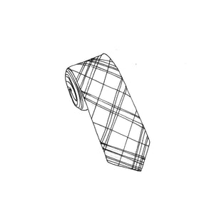 Made-To-Measure Tartan Tie