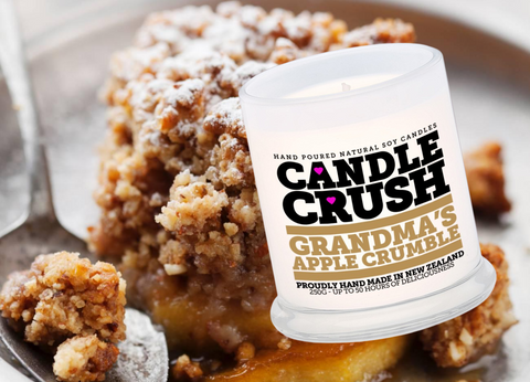 Grandma's Apple Crumble Scented Candle