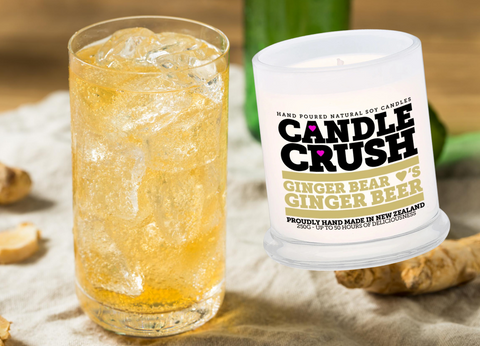 Ginger Bear loves Ginger Beer Scented Candle