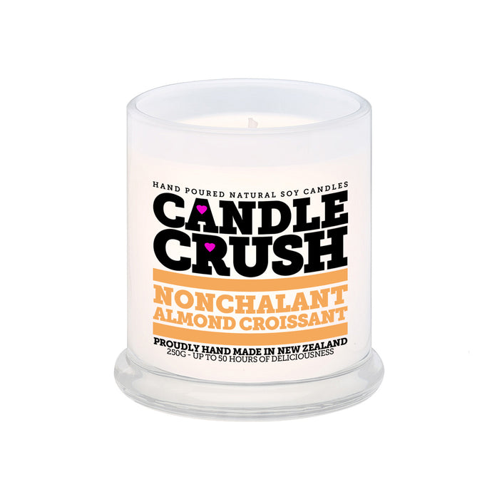 Nonchalant Almond Croissant Scented Candle
