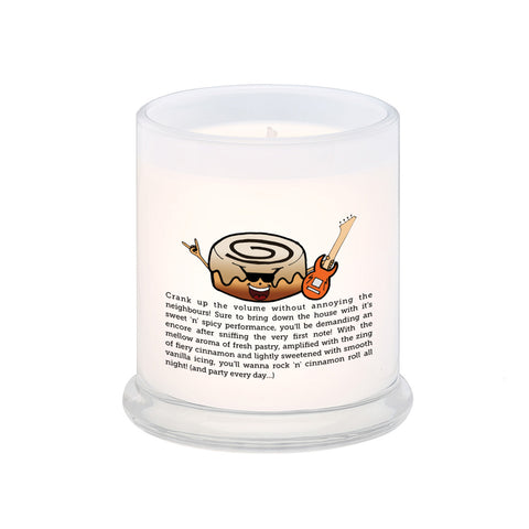 Rock 'n' Cinnamon Roll! Scented Candle