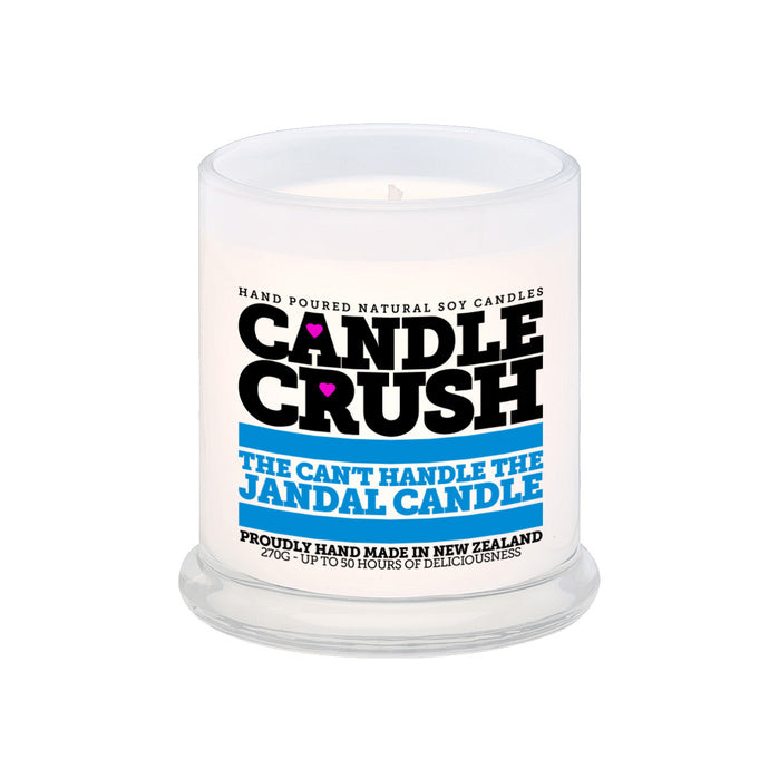 The Can't Handle The Jandal Candle