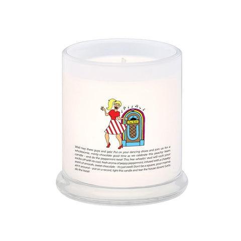 Let's Do The Twist! The Chocolate Peppermint Twist! Scented Candle