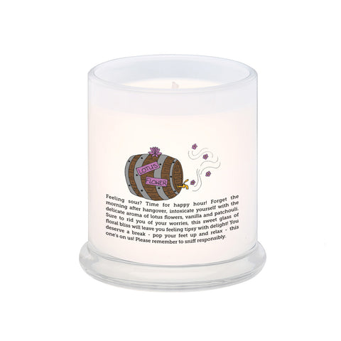 Lotus Flower Happy Hour Scented Candle