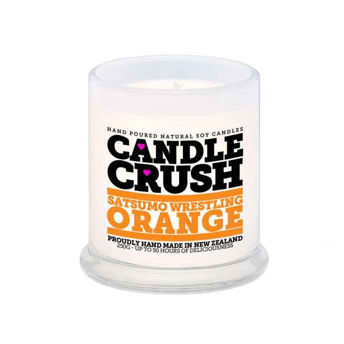 Satsumo Wrestling Orange Scented Candle