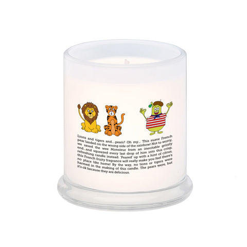 Lions and Tigers and Pears - Oh My! Scented Candle