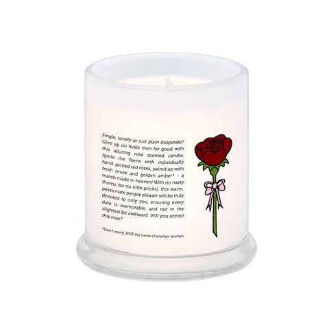 Will You Accept This Rose? Scented Candle