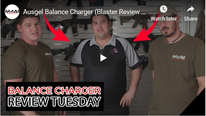 Ausgel Balance Charger (Blaster Review Tuesday)