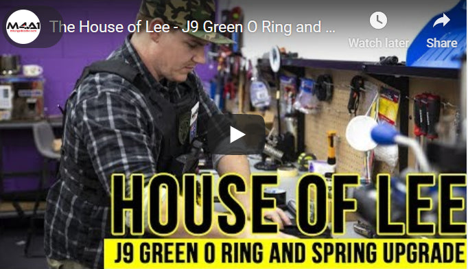The House of Lee - J9 Green O Ring and Spring Upgrade
