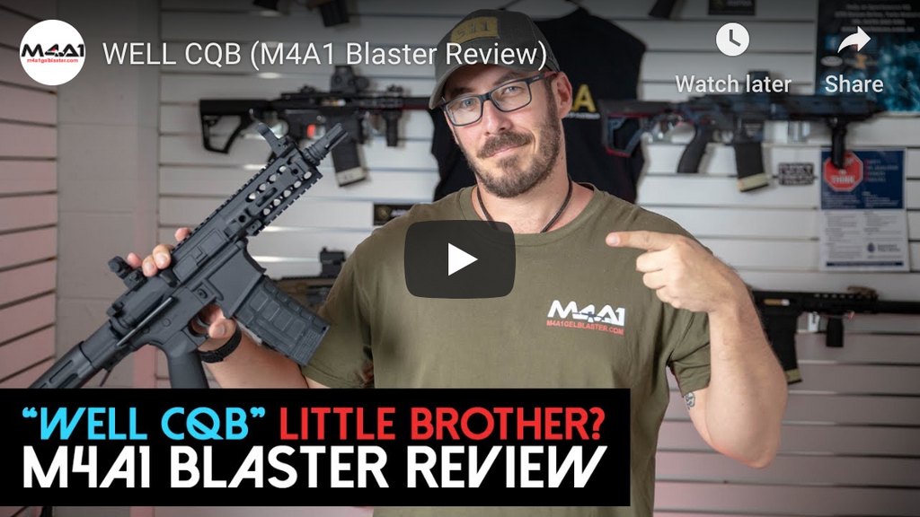 WELL CQB (M4A1 Blaster Review)