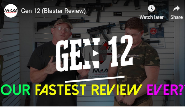 Gen 12 (Blaster Review)
