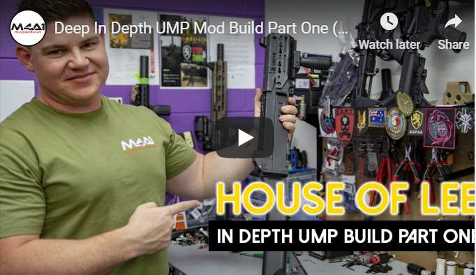 Deep In Depth UMP Mod Build Part One (House Of Lee)