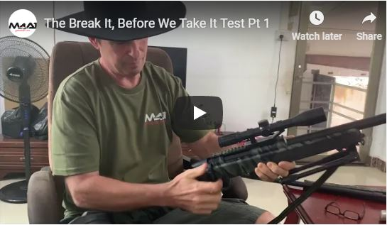 The Break It, Before We Take It Test Pt 1