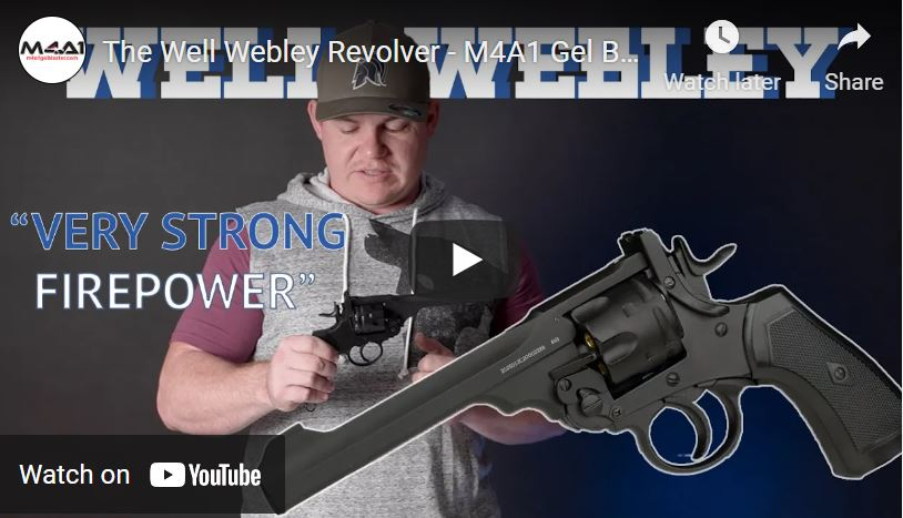 The Well Webley Revolver 😮