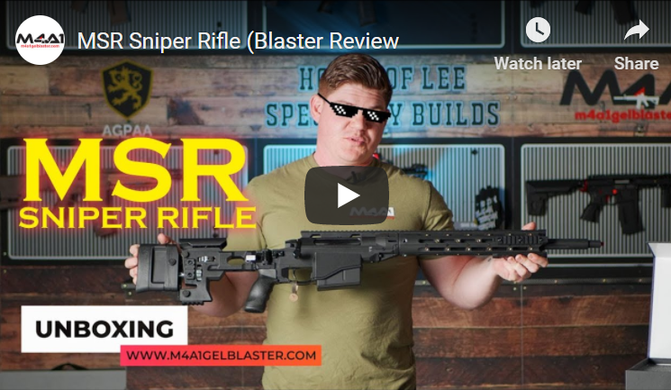 MSR Sniper Rifle (Blaster Review)