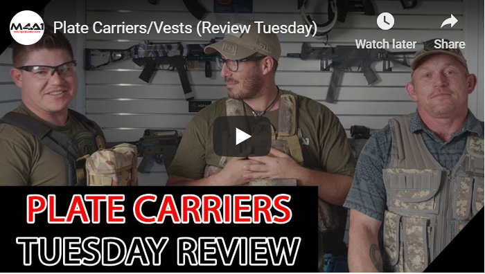 Plate Carriers/Vests (Review Tuesday)