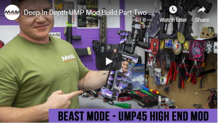 Deep In Depth UMP Mod Build Part Two (House Of Lee)