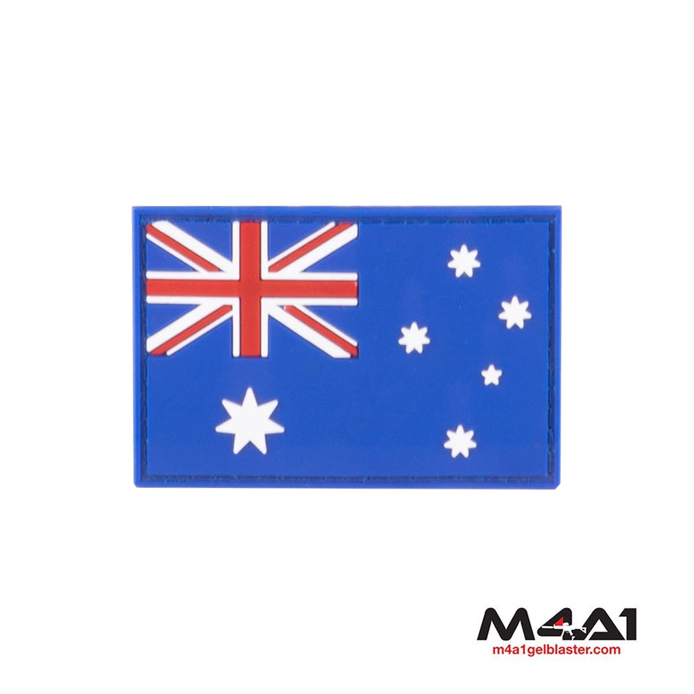 Australia Flag Rubber Patch