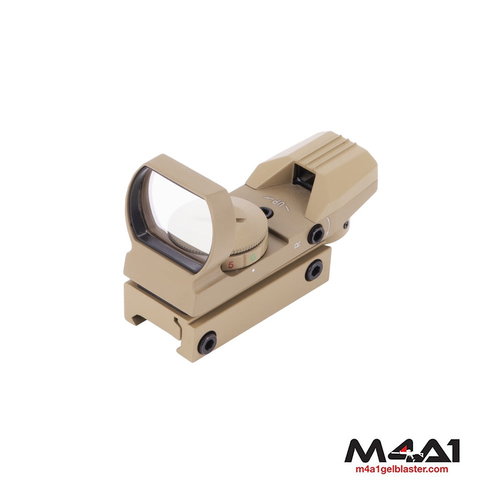 Reflex Sight Red/Green Dot - Tan