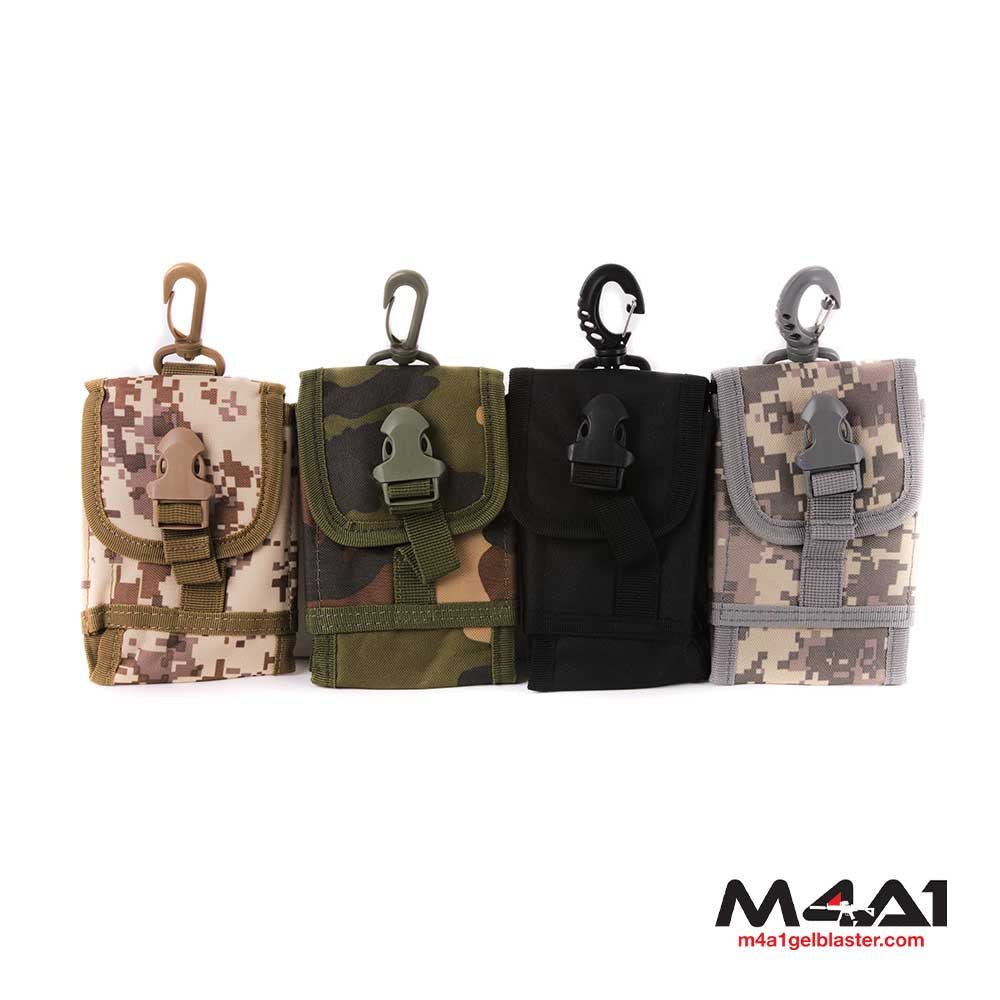 Mobile Phone Pouch with Molle Attachment