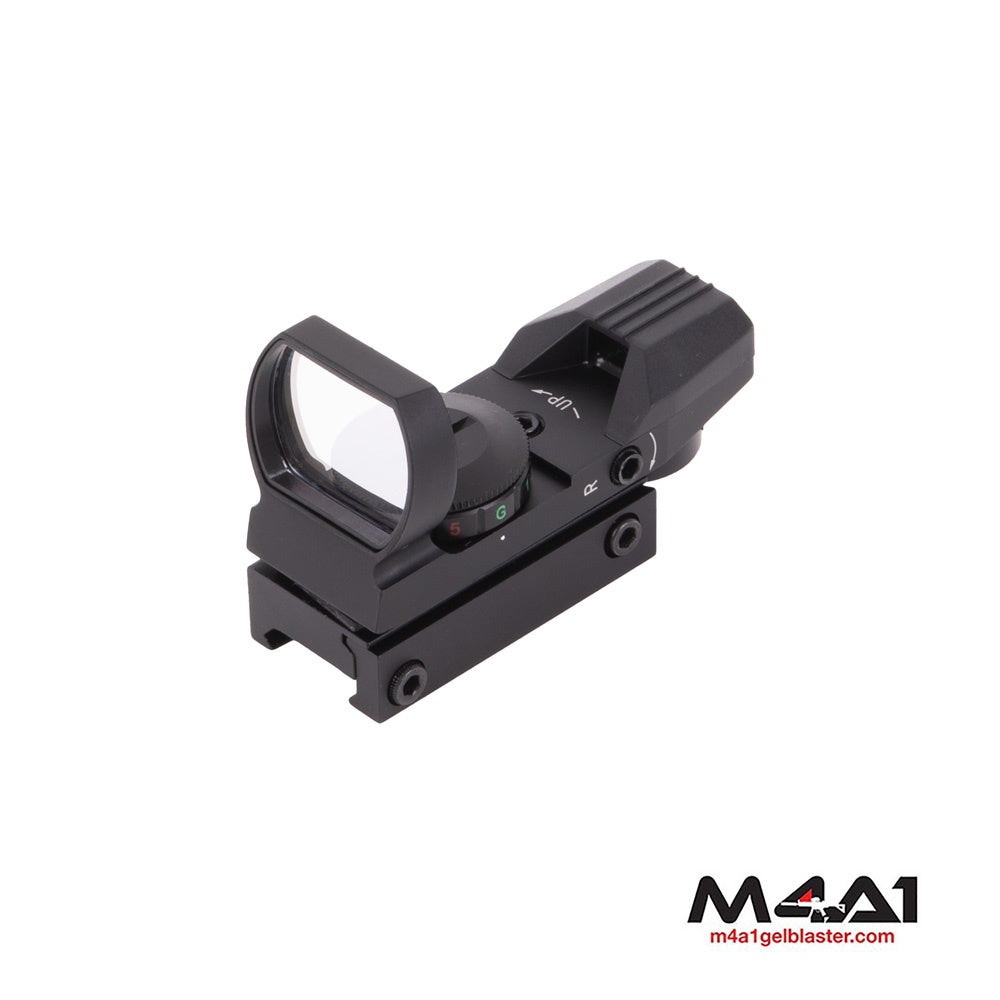 Reflex Sight Red/Green Dot - Black