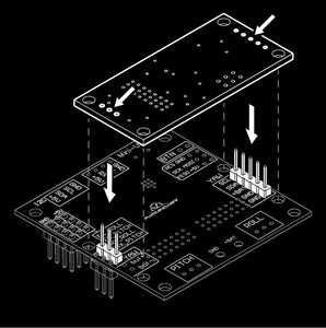 AlexMos 3rd Axis Extension Board