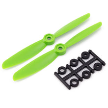 Load image into Gallery viewer, HQProp 5x4.5RG CW Propeller - 2 Blade (2 Pack - Green)