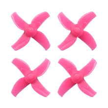 Load image into Gallery viewer, BETAFPV 40mm 4-Blade Whoop Propellers (1.5mm Shaft - Pink)
