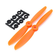 Load image into Gallery viewer, HQProp 5x4.5RO CW Propeller - 2 Blade (2 pack Orange)