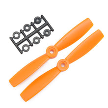 Load image into Gallery viewer, HQProp 5x4.5O Bullnose CCW Propeller - 2 Blade (2 pack Orange)