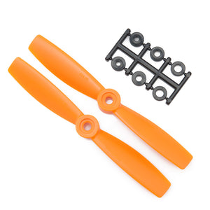 HQProp 5x4.5RO Bullnose CW Propeller - 2 Blade (2 pack Orange)