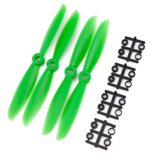 Load image into Gallery viewer, Gemfan 6x4.5 Nylon Glass Fiber Propeller (Set of 4 - Green)