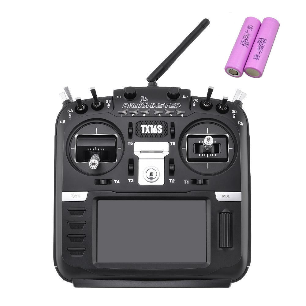 RadioMaster TX16S (BATTERY INCLUDED) Multi-Protocol RF Module OpenTX 2.4GHz RC Transmitter
