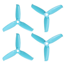 Load image into Gallery viewer, Gemfan 3052 - 3 Blade Propeller - Blue PC (Set of 4)