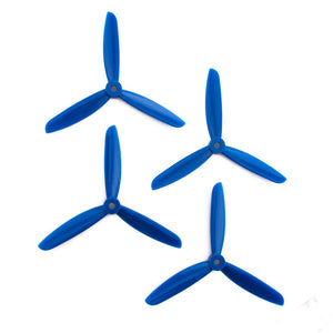 DAL 5x4.5 - 3 Blade Propeller - TJ5045 (Set of 4 - Blue)