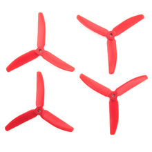 Load image into Gallery viewer, Gemfan 5x4 - 3 Blade Master Propellers (Set of 4 - CodeRed)