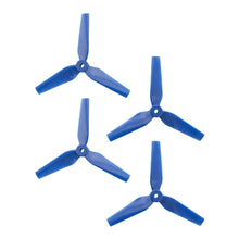 Load image into Gallery viewer, DAL 5x4.4 - 3 Blade, Blue Trapezoid Propeller - T5044  (Set of 4)
