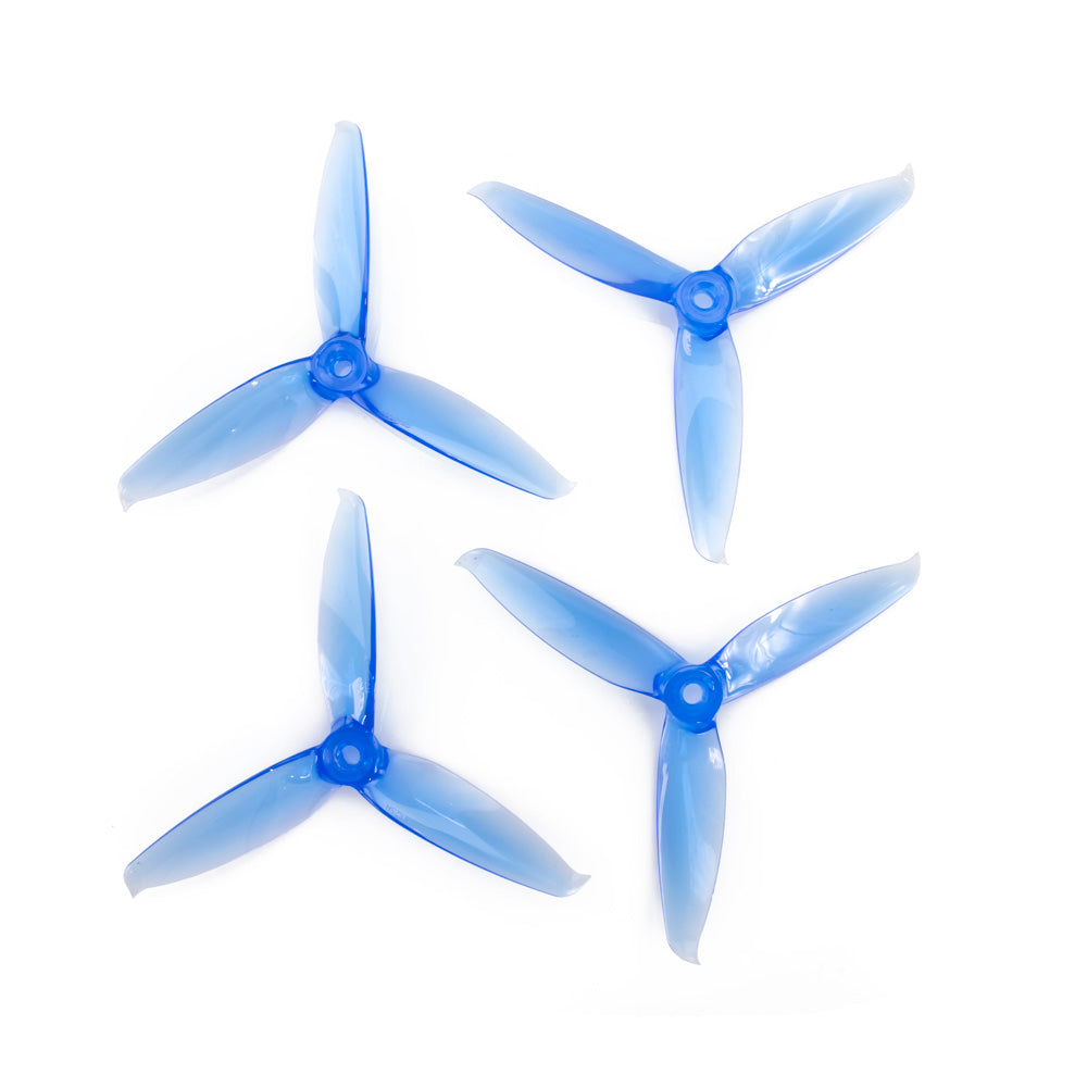 Gemfan 5152S V2 3 Blade Propeller (Set of 4 - Blue)