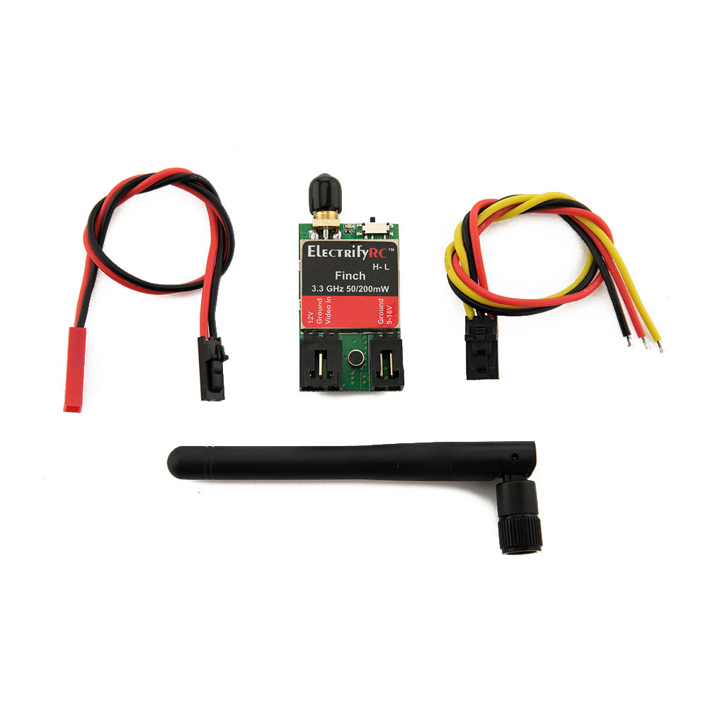 Finch 3.3 GHz Racing Transmitter 50/200 MW (US version)