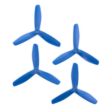 Load image into Gallery viewer, Gemfan 5x5 - Bullnose 3 Blade Propeller - Nylon Glass Fiber (Set of 4 - Dark Blue)