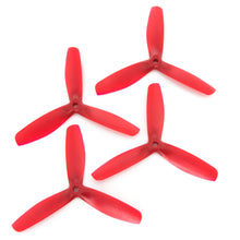 Load image into Gallery viewer, Gemfan 5x5 - Bullnose 3 Blade Propeller - Nylon Glass Fiber (Set of 4 - Red)