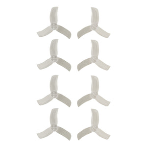 Gemfan Hulkie Clear 2040 Durable 3 Blade - Set of 8 (4CW, 4CCW)