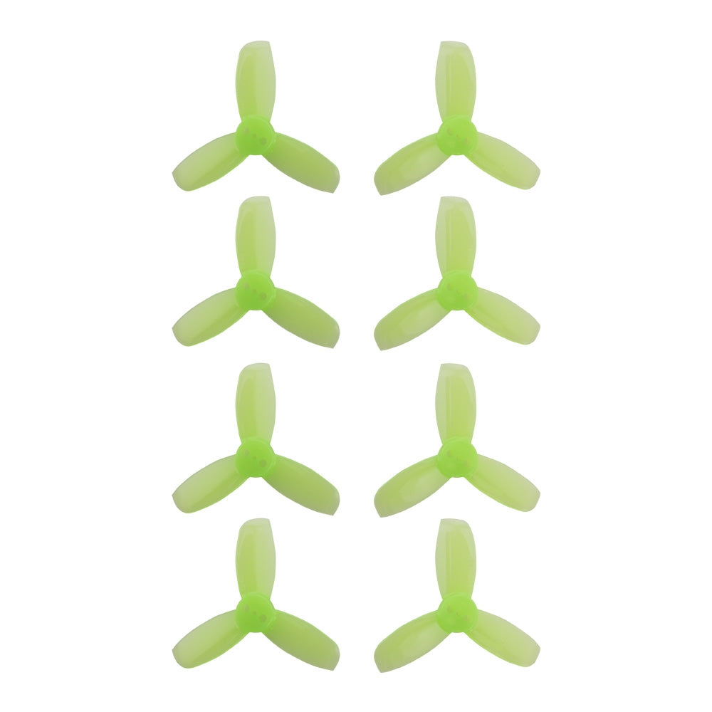 Gemfan Hulkie Green 1940 Durable 3 Blade - Set of 8 (4CW, 4CCW)