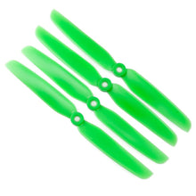 Load image into Gallery viewer, Gemfan 6x3 Nylon Glass Fiber Propeller (Set of 4 - Green)