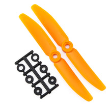 Load image into Gallery viewer, HQProp 5x4RO CW Propeller - 2 Blade (2 pack Orange)