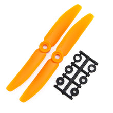 Load image into Gallery viewer, HQProp 5x4O CCW Propeller - 2 Blade (2 pack Orange)