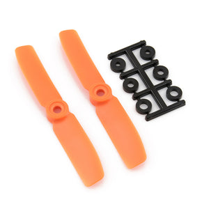 HQProp 4x4 CW Bullnose Propeller - (Set of 2 - Orange)