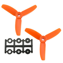 Load image into Gallery viewer, HQProp 3x3x3RO CW Propeller - 3 Blade (2 Pack - Orange Nylon Glass Fiber)